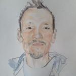 Christopher Edwards watercolour